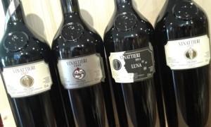 diverse annate di Vinattieri Rosso: 2007, 2009, 2011, 2012