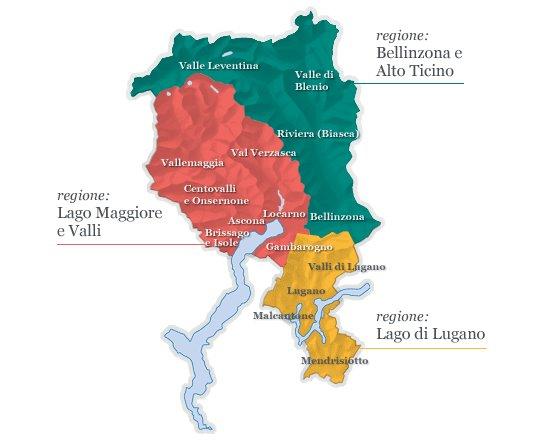 Manno Svizzera Cartina.Elenco Dei Produttori Per Aree Di Produzione Ticivino
