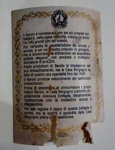 barolo borgogno 10a